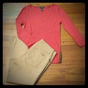 LRL Laurens Jean's Co. 3/4 sleeves Top